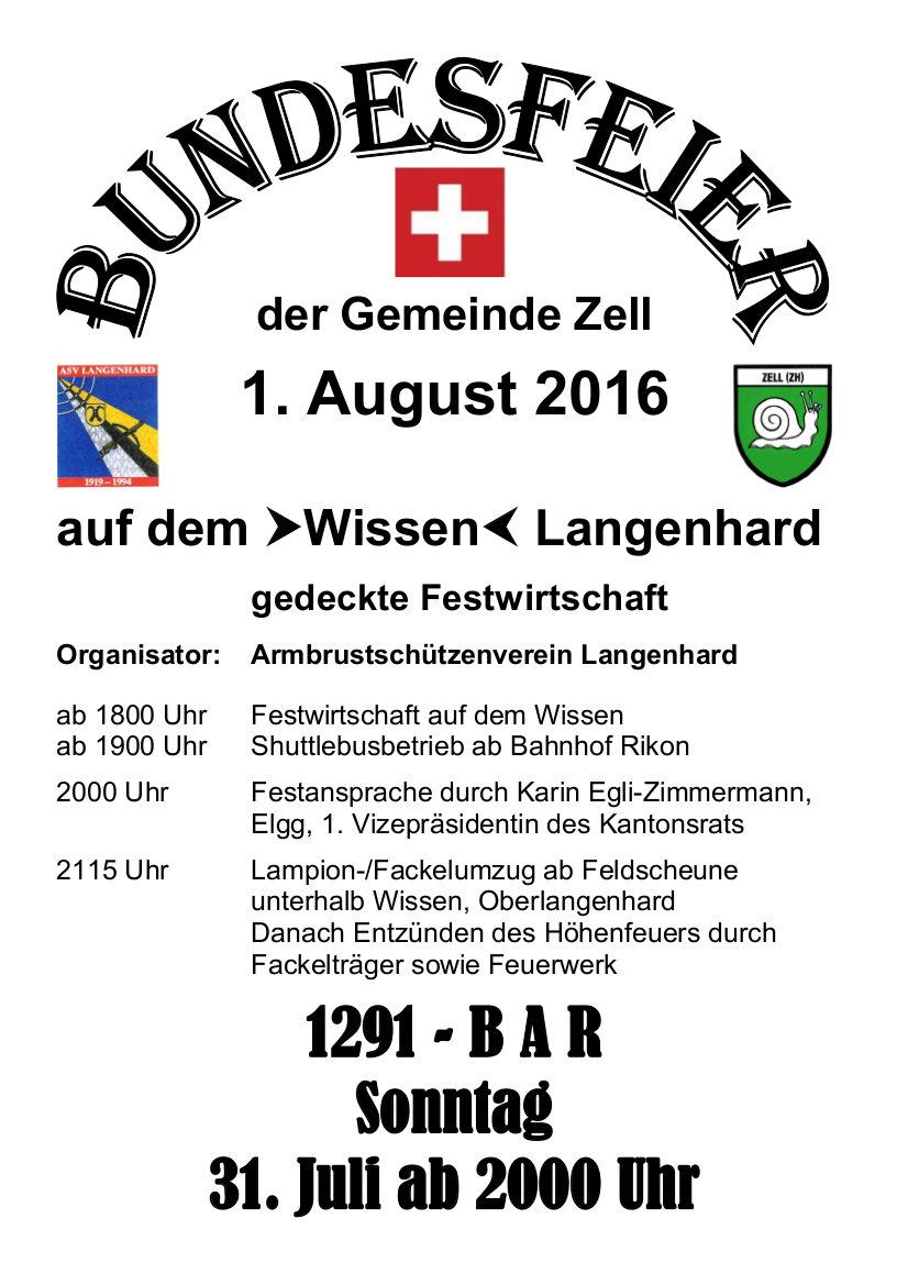 Bezirk Winterthur Zell